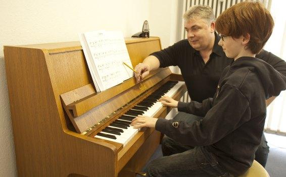 Musikunterricht an unserer Musikschule in Rheda-Wiedenbrück